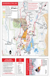 McCall Snowmobile Trail & Area Map