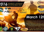 Disabled Veterans Snowmobile Ride
