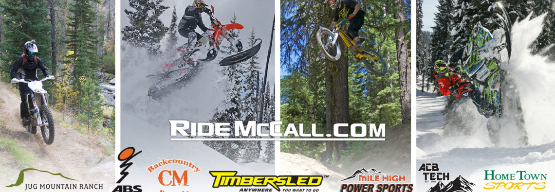 Dirt biking, OHV, Snow Biking, Moutain Biking, Snowmobiling - McCall, Idaho