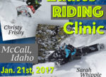 Ladies Riding Clinic by CM Backcountry Rentals & Adventures – Jan. 21st