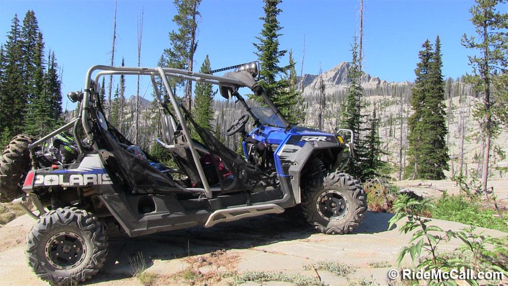 Summer Trip by UTV - Lick Creek Summit