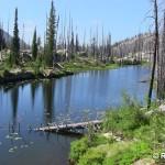 Summit Lake at Lick Creek Summit