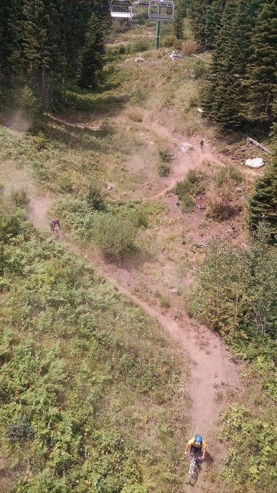Tamarack Mountain Bike Park Ride Mccall