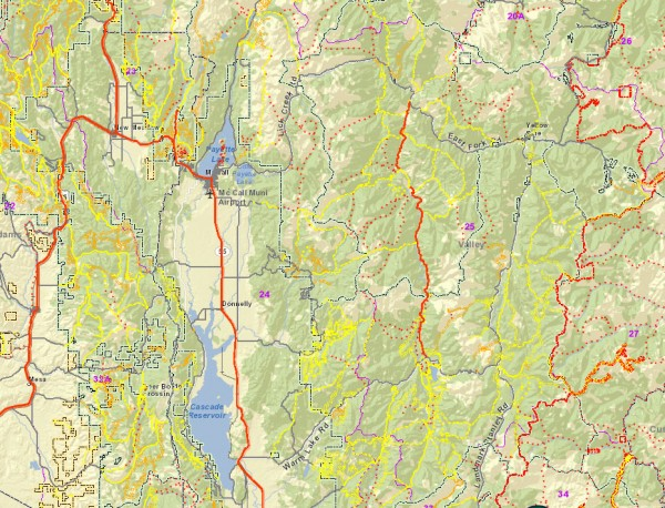 Idaho Trails Online Interactive Tool – Ride McCall