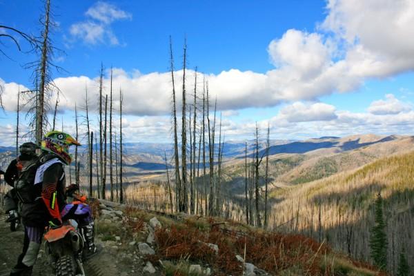 Telephone Ridge Trail - Warm Lake Beyond
