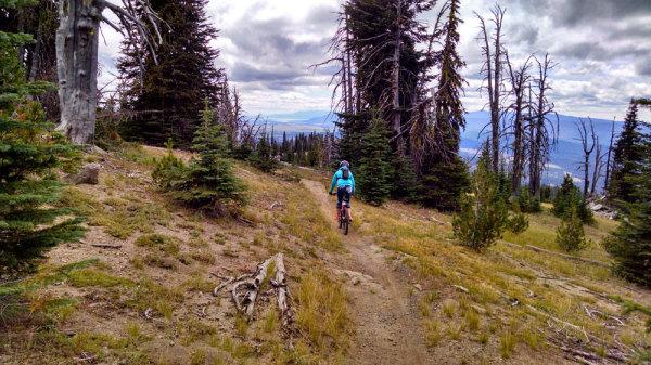 Brundage Mountain Biking
