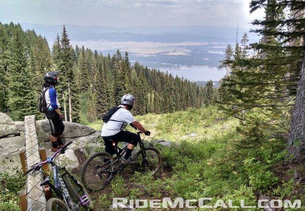 Mountain Biking Tamarack Resort