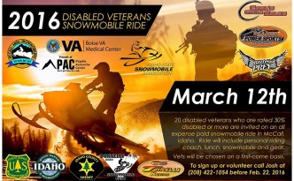 2016 Disabled Veterans Snowmobile Ride