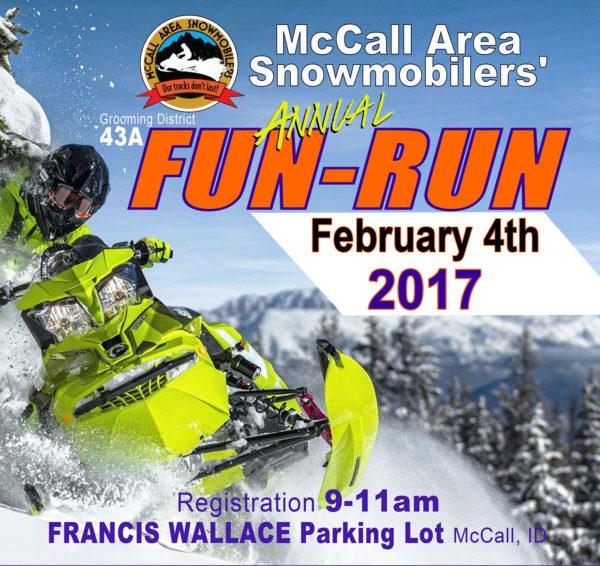 mccall idaho snowmobile fun run